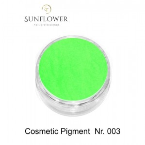 Cosmetic Pigment  CP003 Green Neon Smokey Effect !