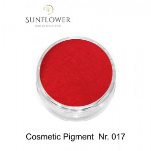 Cosmetic Pigment  CP017 Light Red Smokey Effect !