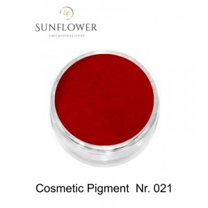 Cosmetic Pigment  CP021 Strong Red Smokey Effect !
