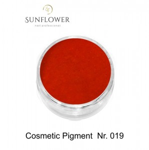 Cosmetic Pigment  CP019 Red Color Smokey Effect !