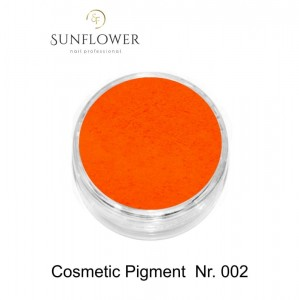 Cosmetic Pigment  CP002 Orange Neon Smokey Effect !