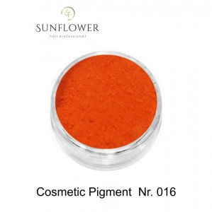 Cosmetic Pigment  CP016 Orange Smokey Effect !